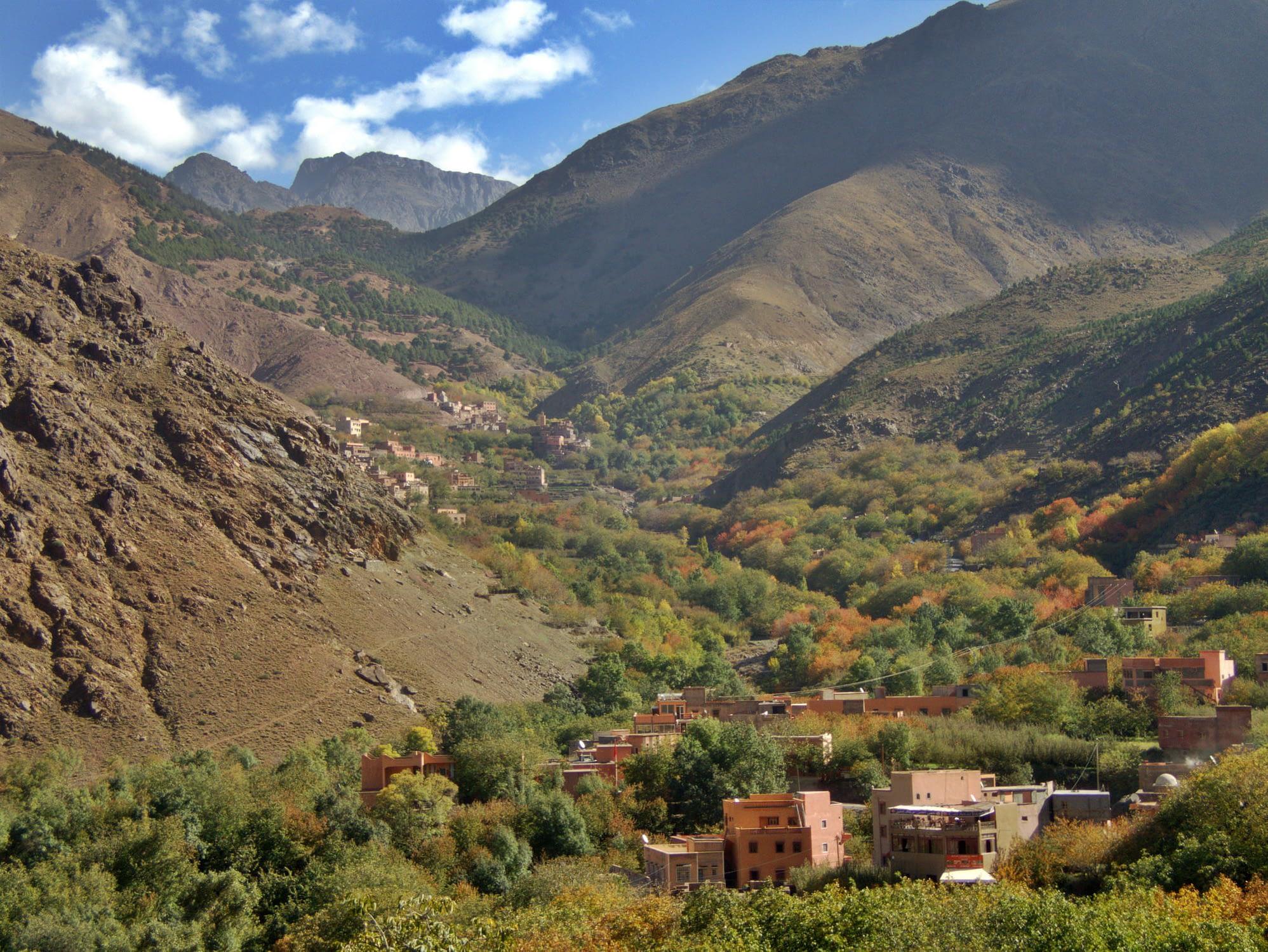 berber villages trek