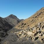 family trek in atlas mountains with kids Toubkal Trekking
